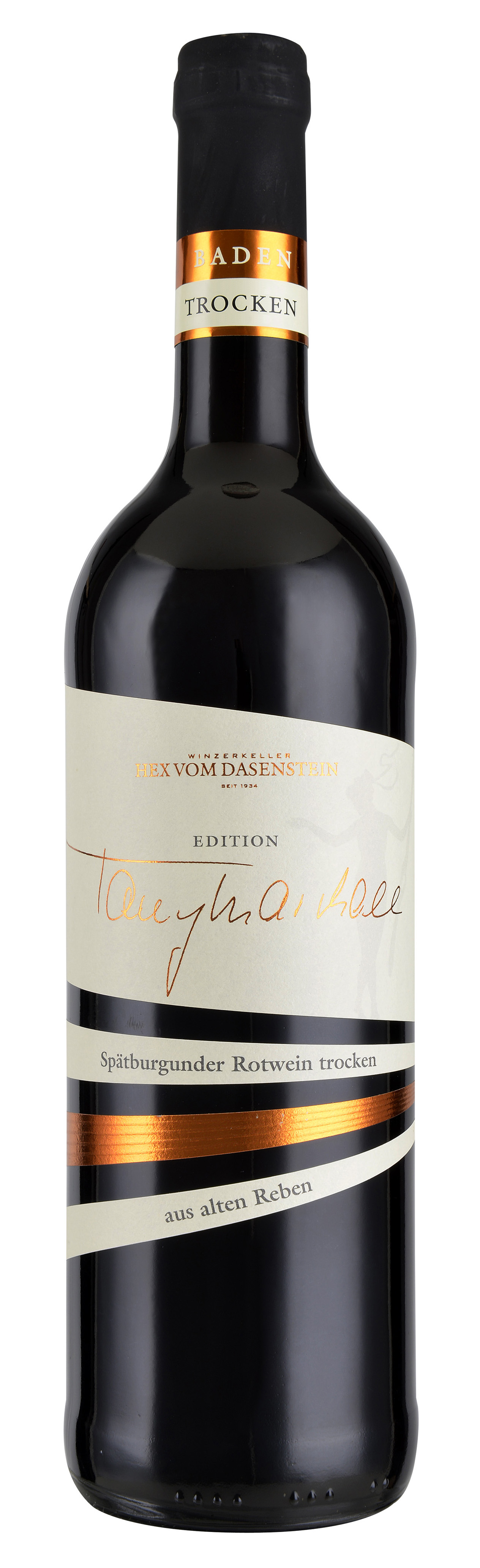 Hex vom Dasenstein TONY MARSHALL, Spätburgunder ALTE REBE Qualitätswein trocken