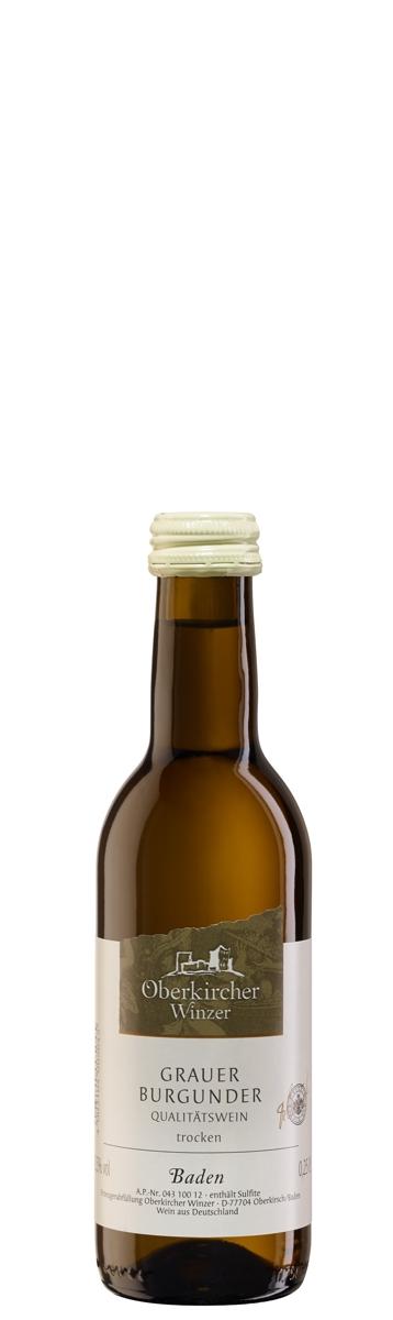 Collection Oberkirch, Grauer Burgunder Qualitätswein trocken