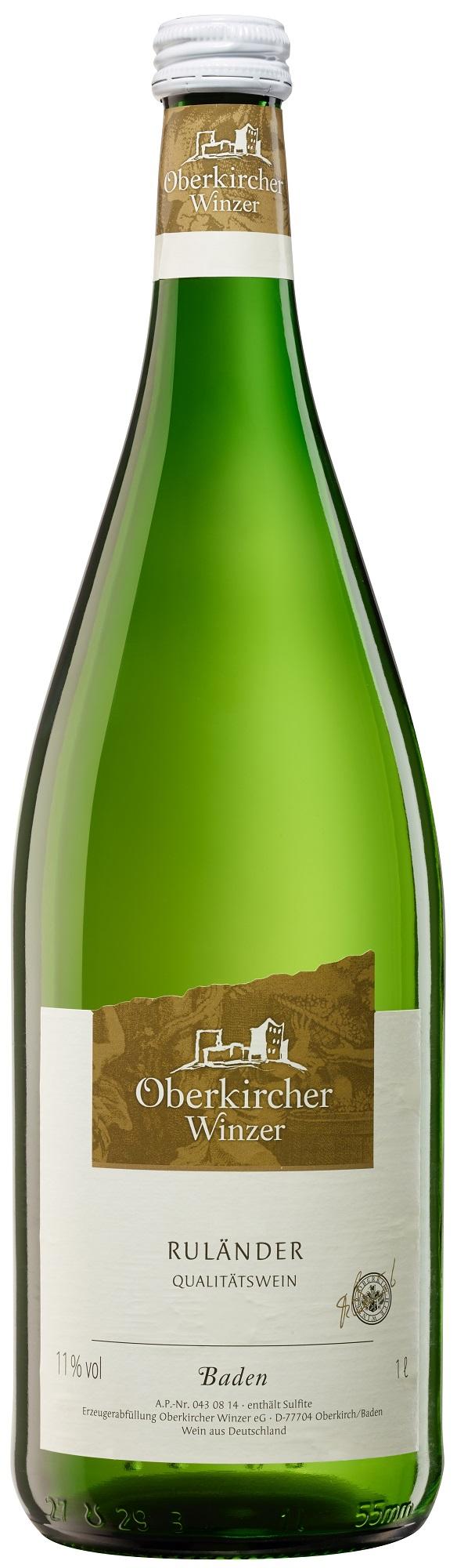 Collection Oberkirch , Ruländer Qualitätswein