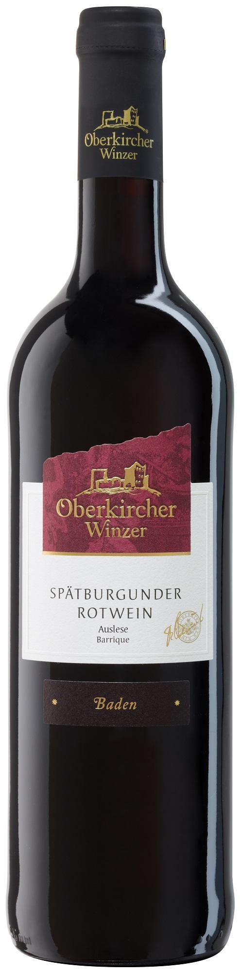 Collection Oberkirch, Spätburgunder Rotwein Auslese -Barrique-