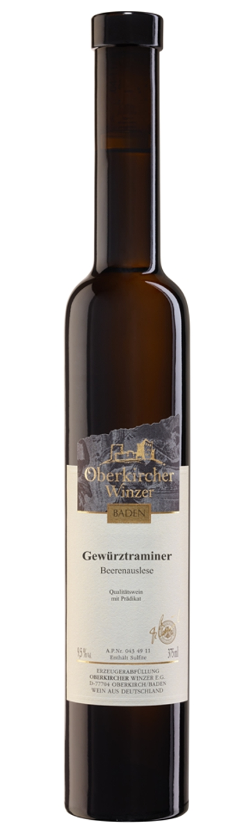 Collection Oberkirch , Gewürztraminer Beerenauslese