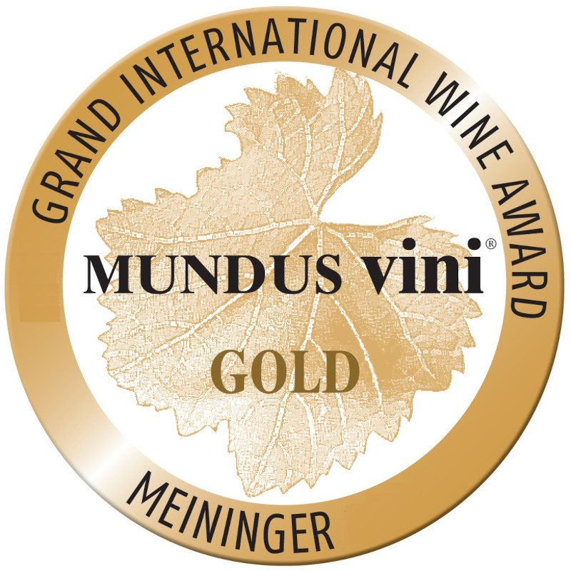 Goldmedaille, MUNDUS vini, The Grand International Wine Award