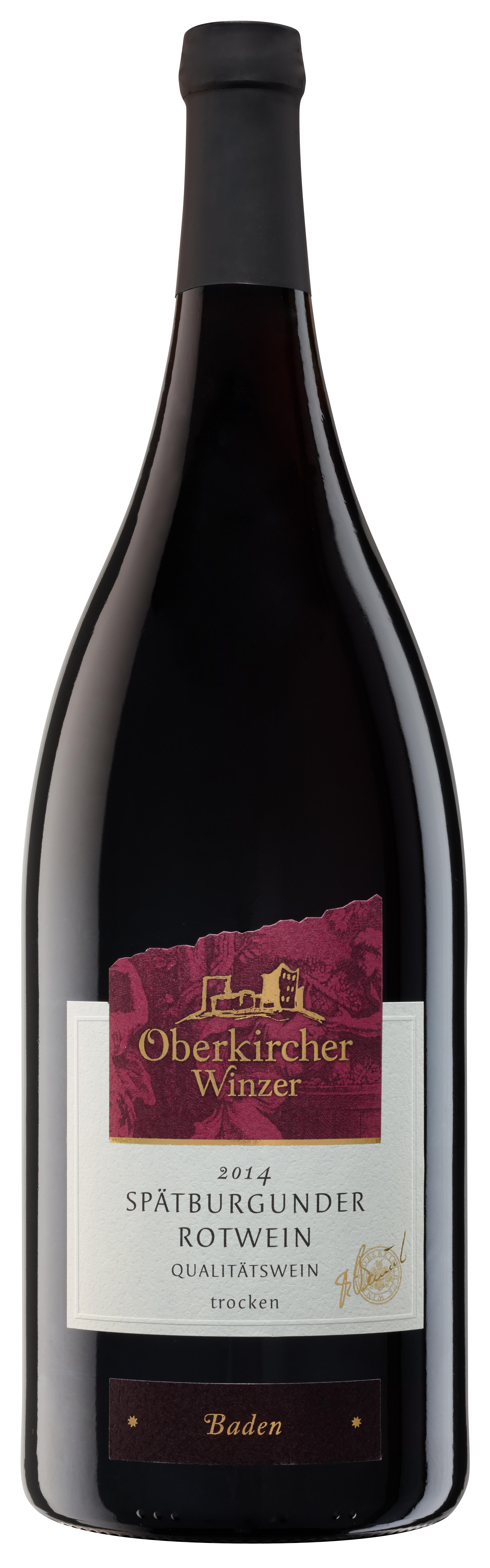 Collection Oberkirch , Spätburgunder Rotwein Qualitätswein trocken
