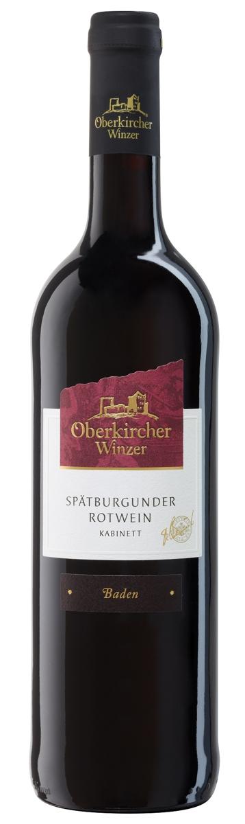 Collection Oberkirch, Spätburgunder Rotwein Kabinett