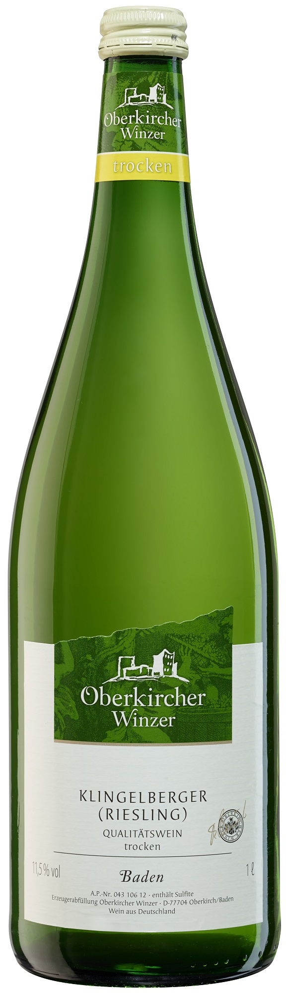 Collection Oberkirch , Riesling Qualitätswein trocken