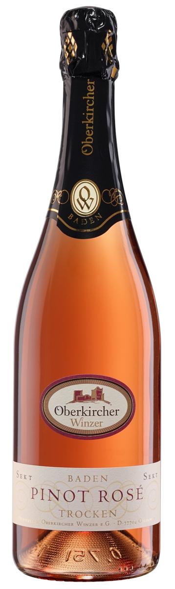 Oberkircher Sekt, Pinot Sekt rosé trocken