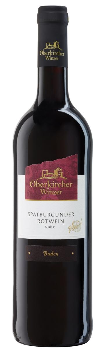 Collection Oberkirch , Spätburgunder Rotwein Auslese