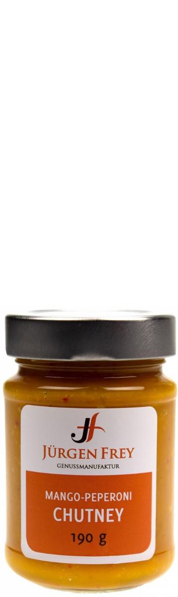 JÜRGEN FREY, Mango-Peperoni Chutney 190 g