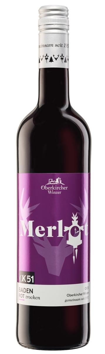 OK51 Merlot, Qualitätswein trocken