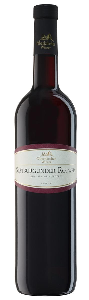 Vinum Nobile , Spätburgunder Rotwein Qualitätswein trocken