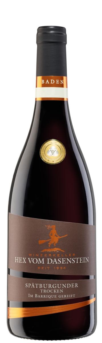 Hex vom Dasenstein BARRIQUE, Spätburgunder Rotwein Qualitätswein trocken